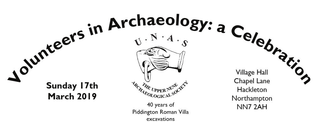 Volunteers in Archaeology Conference Banner